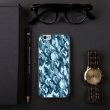 Marine Camouflage iPhone Case