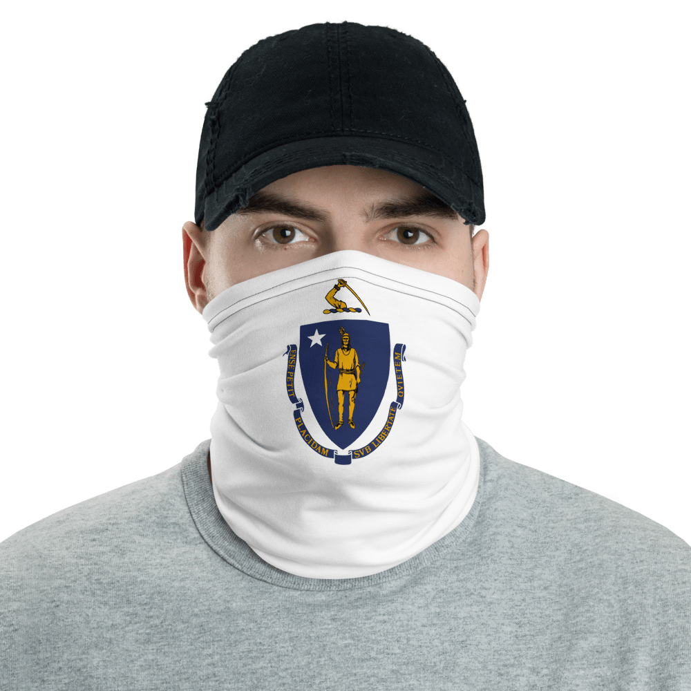 SaltWater Brewery Massachusetts Neck Gaiter