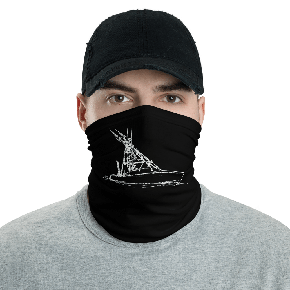 SaltWater Brewery Midnight Express Neck gaiter