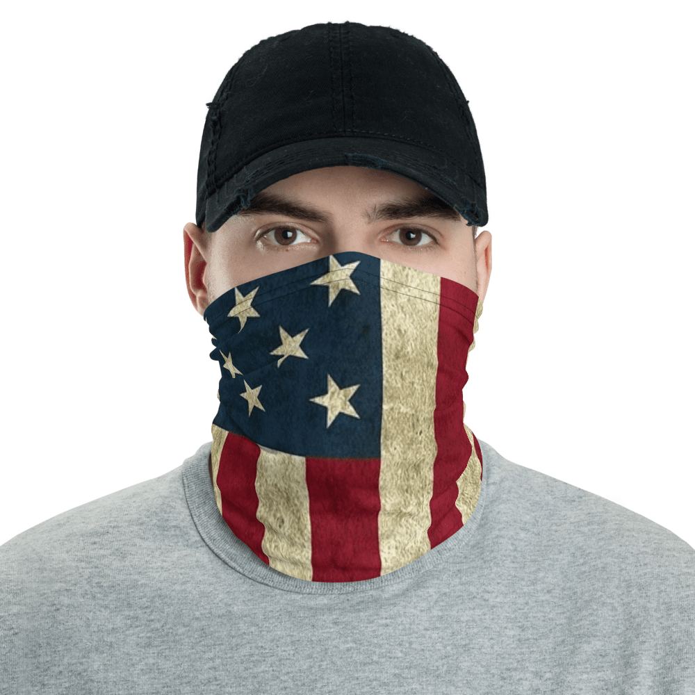 SaltWater Brewery Old Flag Neck Gaiter
