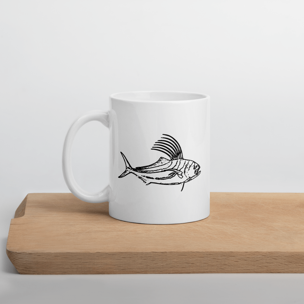SaltWater Brewery Rooster Fish Mug
