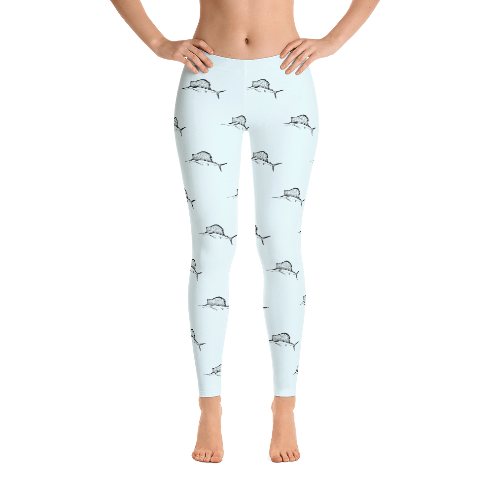 SaltWater Brewery Sailfish Leggings
