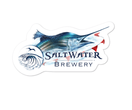 SaltWater Brewery Saltwater Brewery Sailfish Sticker
