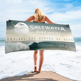 Saltwater Brewery Surf Beach Towel