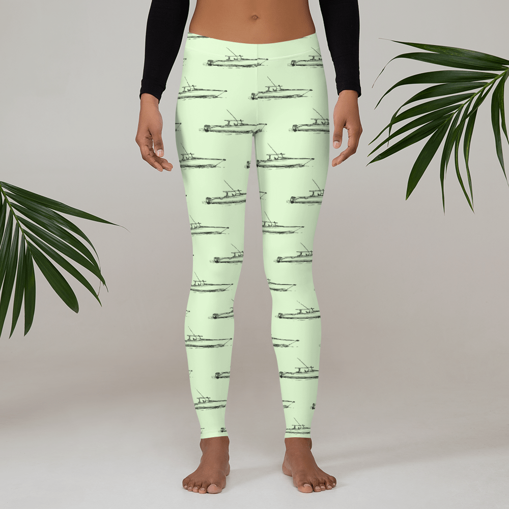 SaltWater Brewery Saltwater Center Console Yoga Leggings