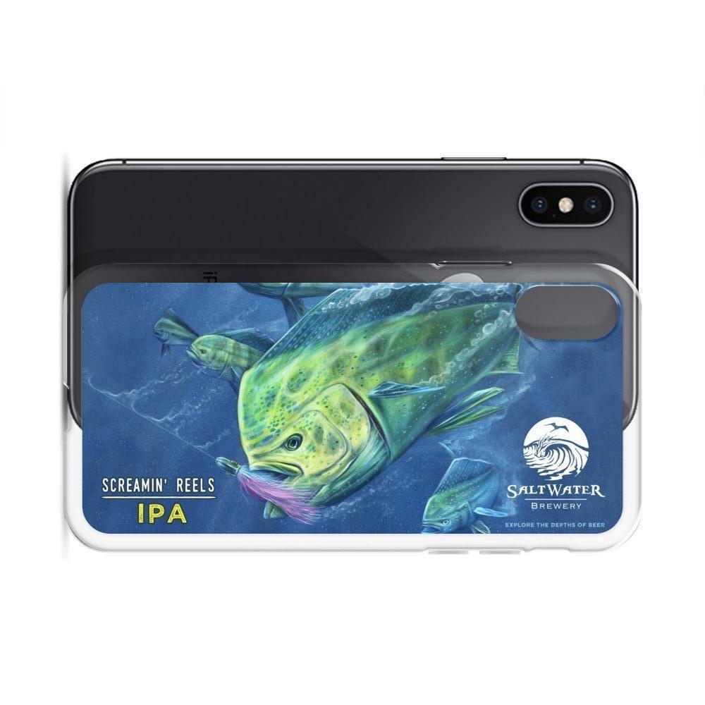 SaltWater Brewery Screamin' Reels iPhone Case