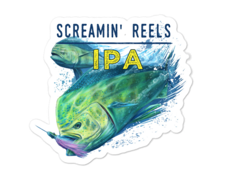 SaltWater Brewery Screamin' Sticker