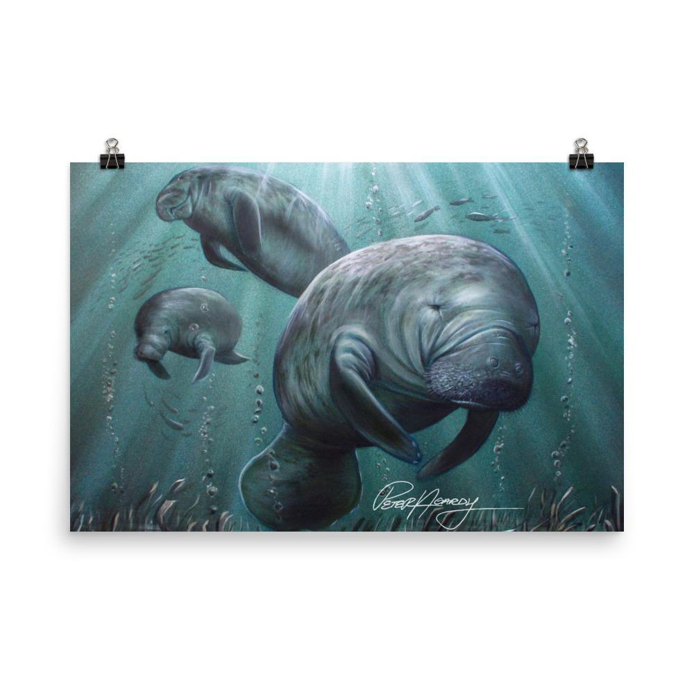 SaltWater Brewery Sea Cow Print