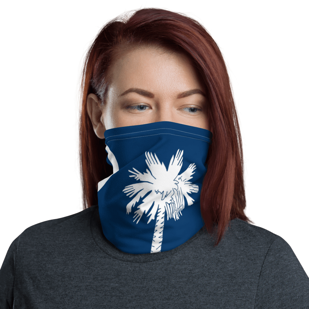 SaltWater Brewery South Carolina Neck Gaiter