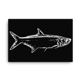 Tarpon Negative Canvas