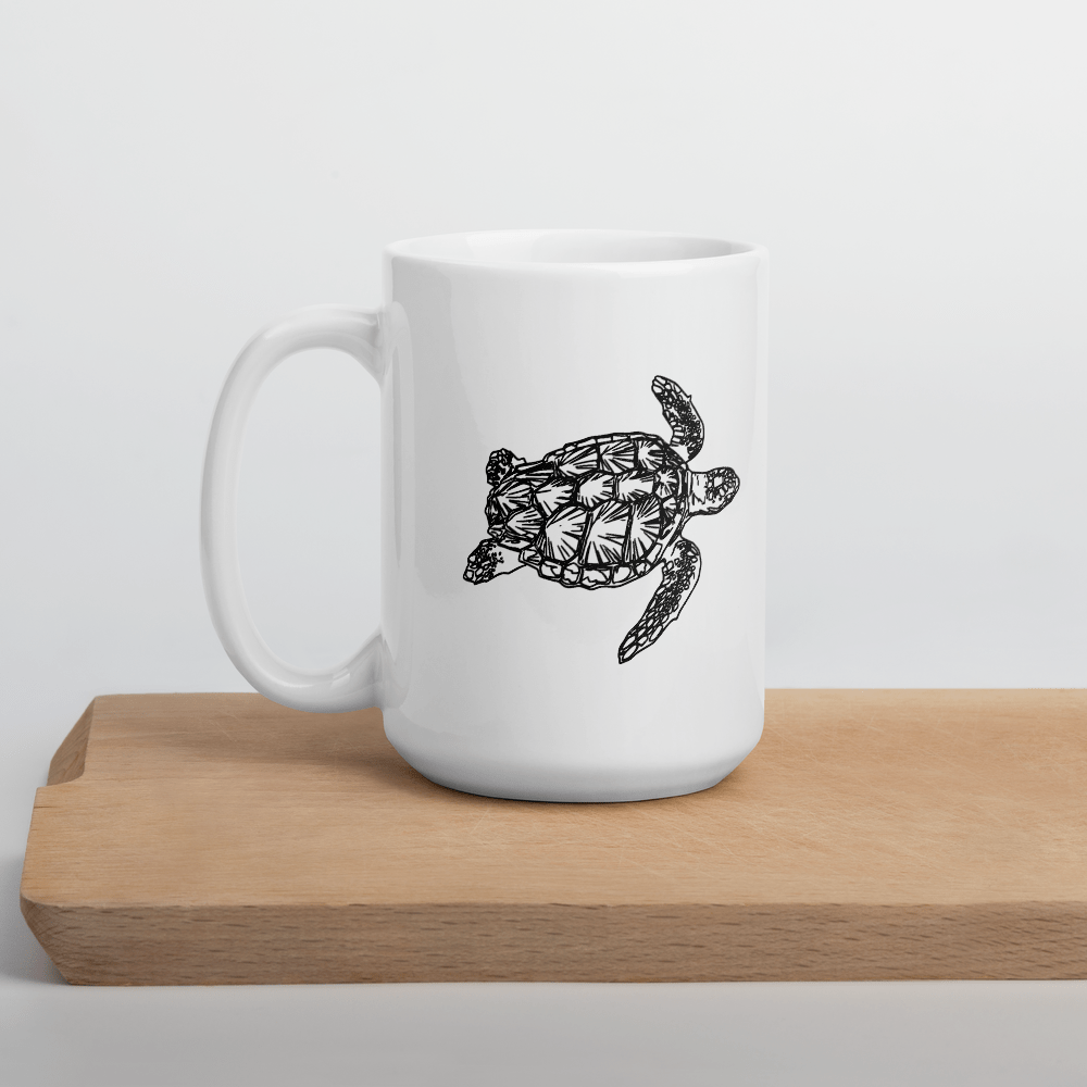 SaltWater Brewery Turtle Coffee Mug