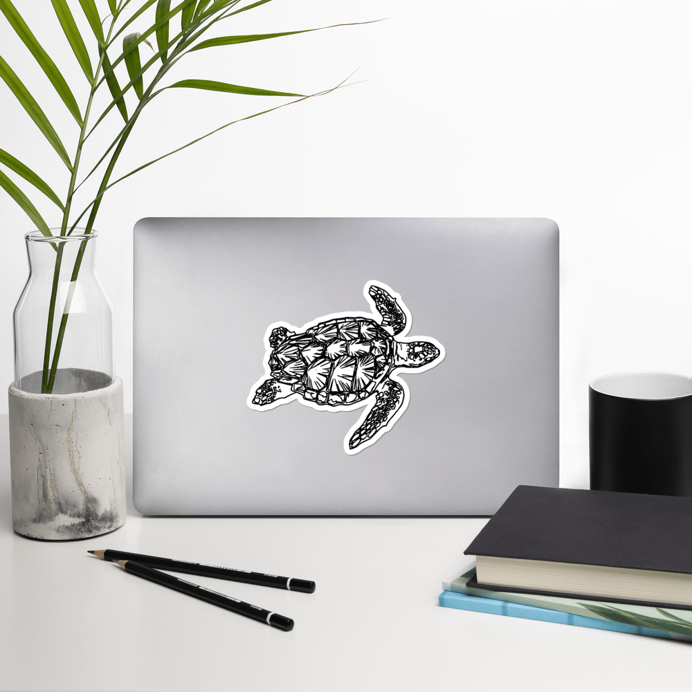 SaltWater Brewery Turtle stickers