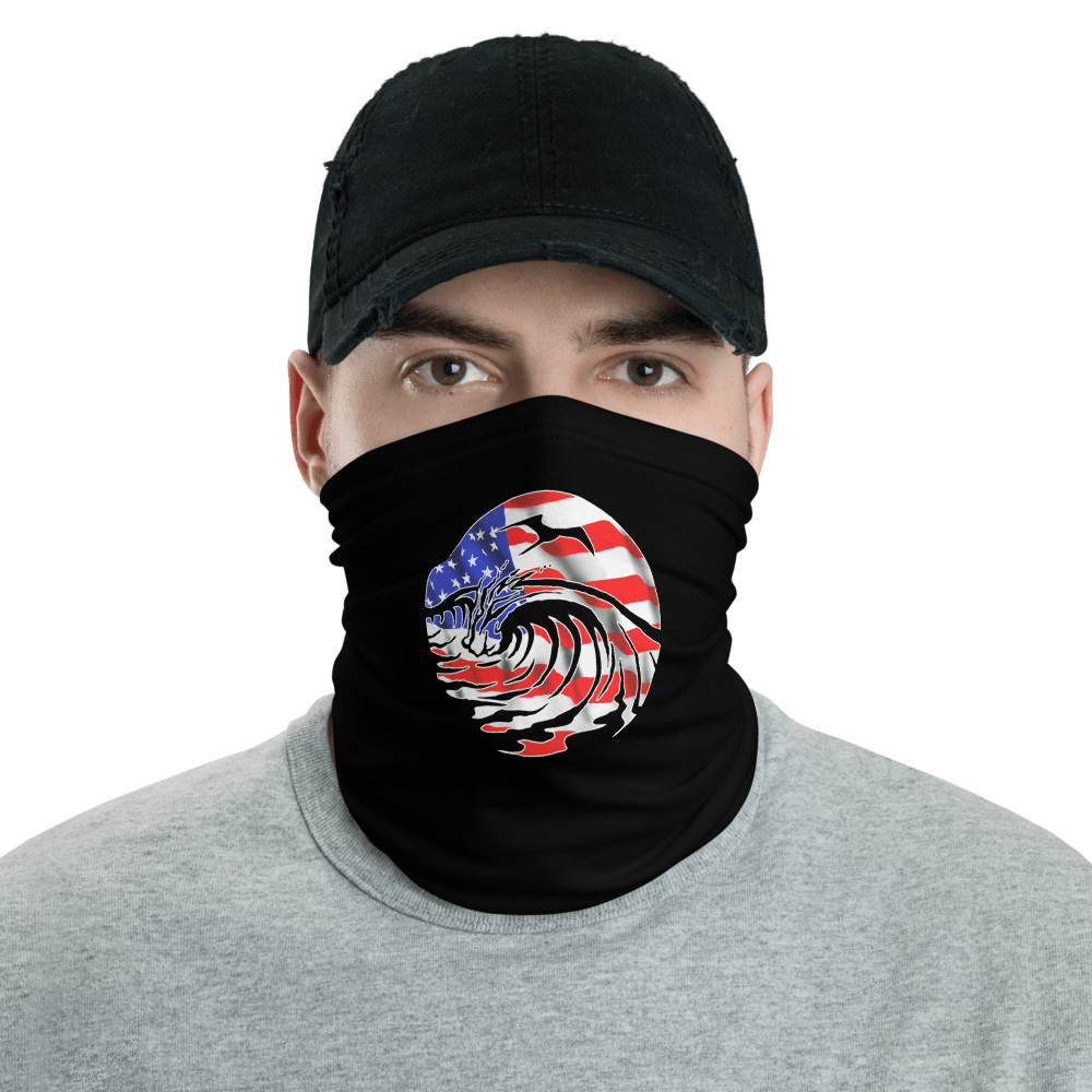 SaltWater Brewery USA Neck gaiter