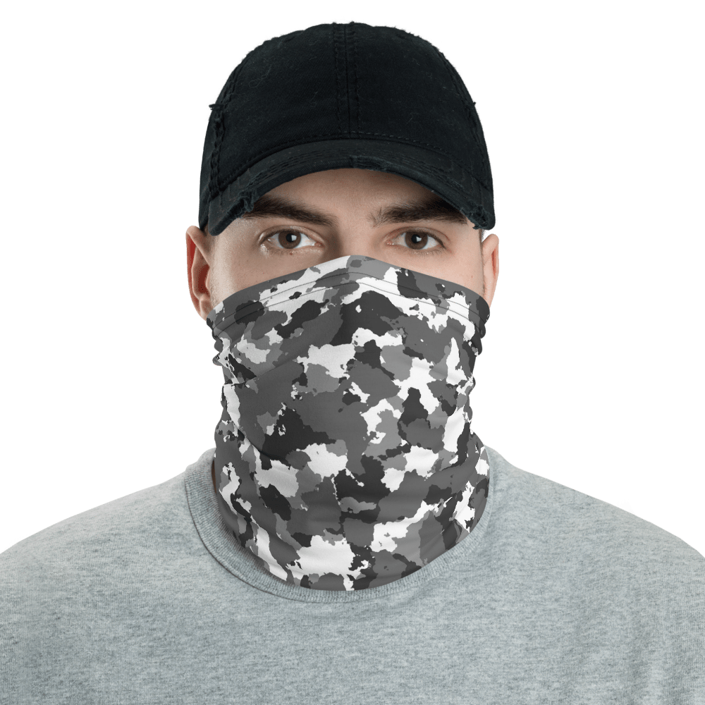 SaltWater Brewery Winter Camo Neck Gaiter