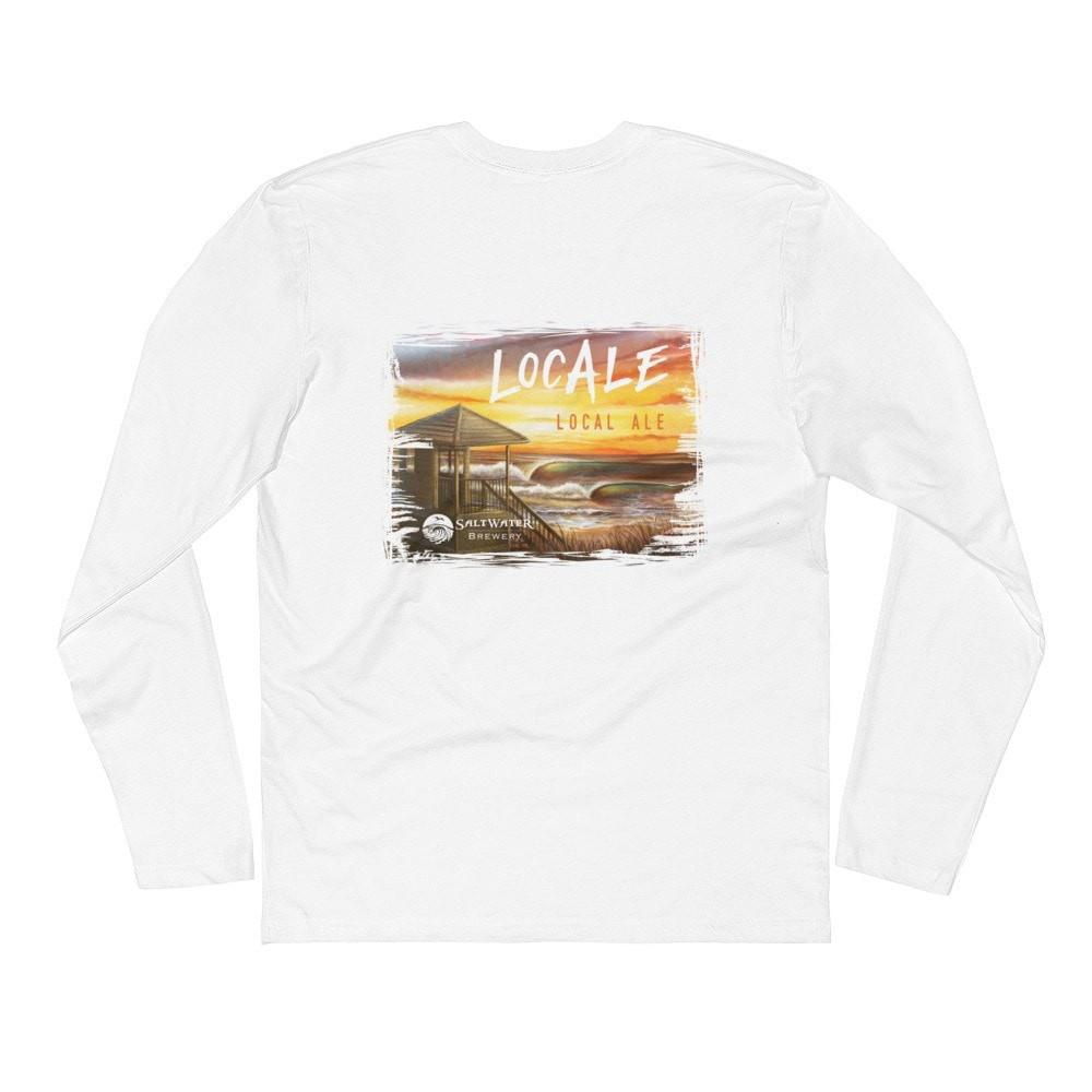 SaltWaterBrewery LocAle - Long Sleeve Fitted Crew
