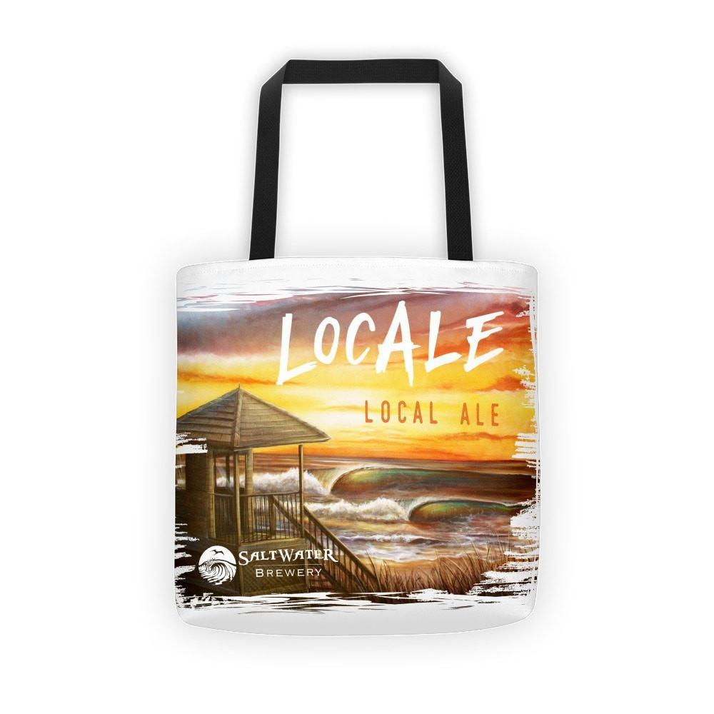 SaltWaterBrewery LocAle - Reusable Shopping Bag /Beach Tote