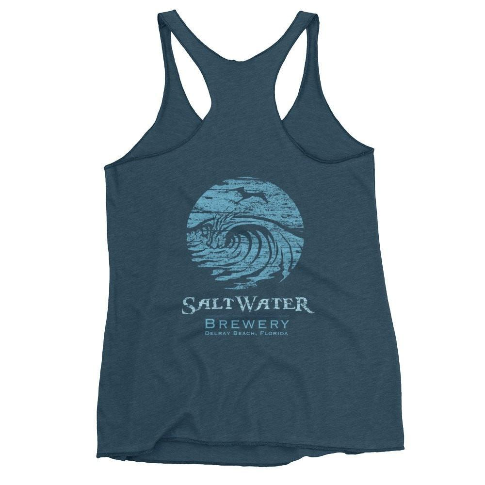 SaltWaterBrewery Ocean Blue Logo - Women's tank top