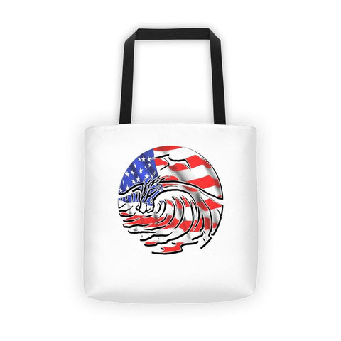 SaltWaterBrewery USA - Reusable Shopping Bag /Beach Tote