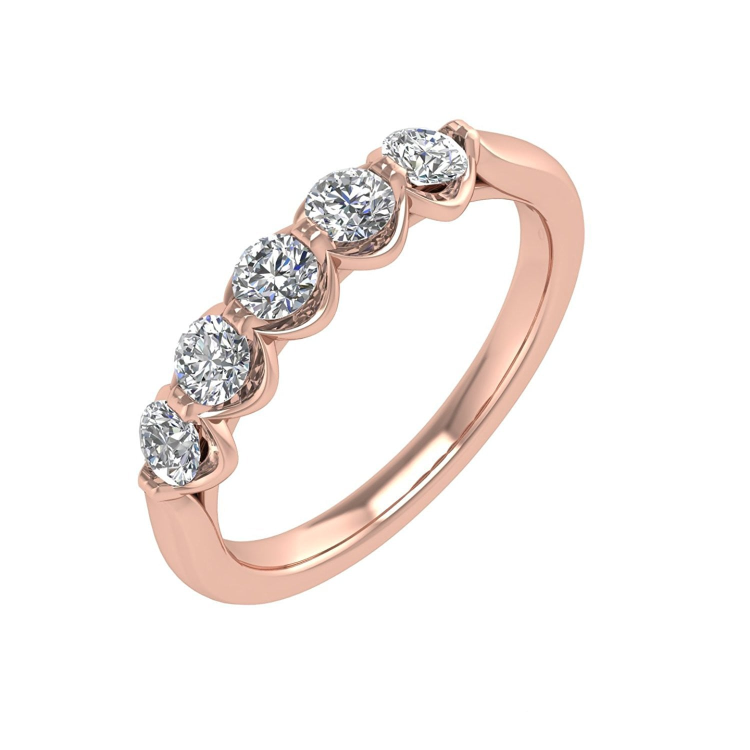 band tw in bands rings jewellers ann classic diamond gemstone anniversary white louise gold