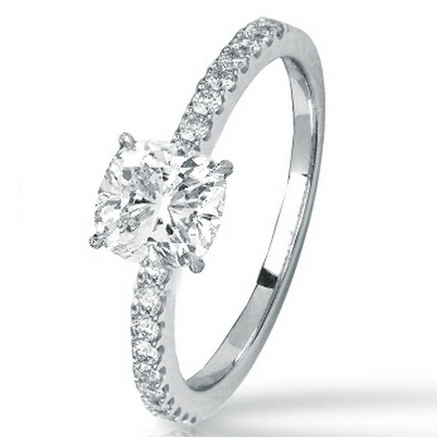 shop only diamonds j carat color clarity round white com cut brilliant diamond goldinart i
