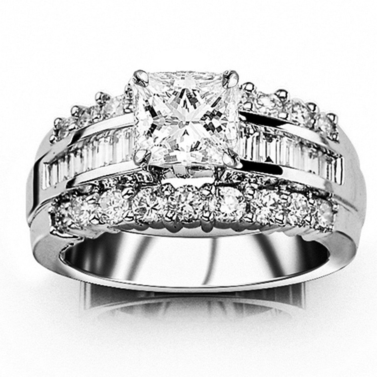 ring a product carat prong round engagement solitaire diamond four with cathedral set min