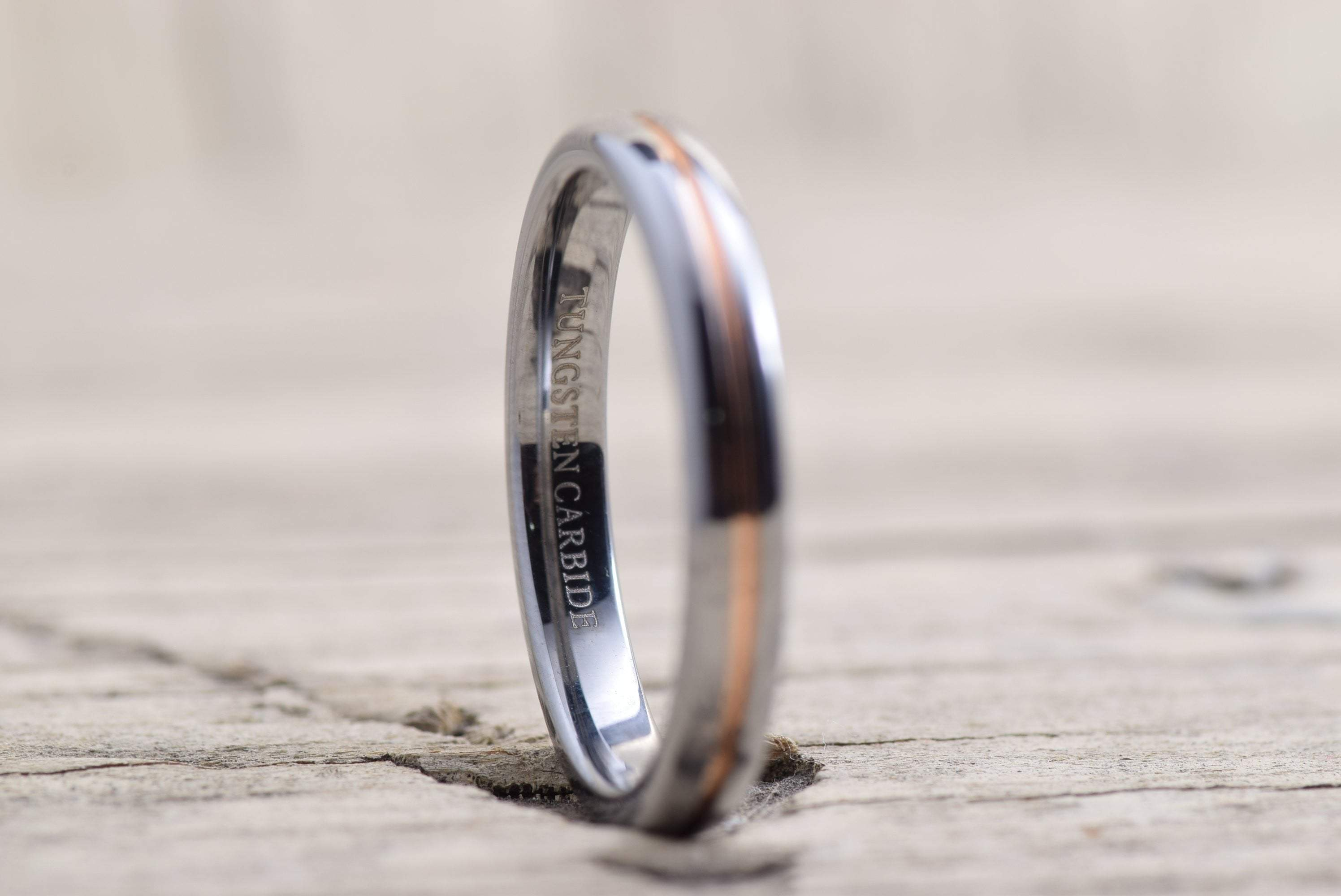 6mm Tungsten Rings Wedding Engagement Band Brushed Black