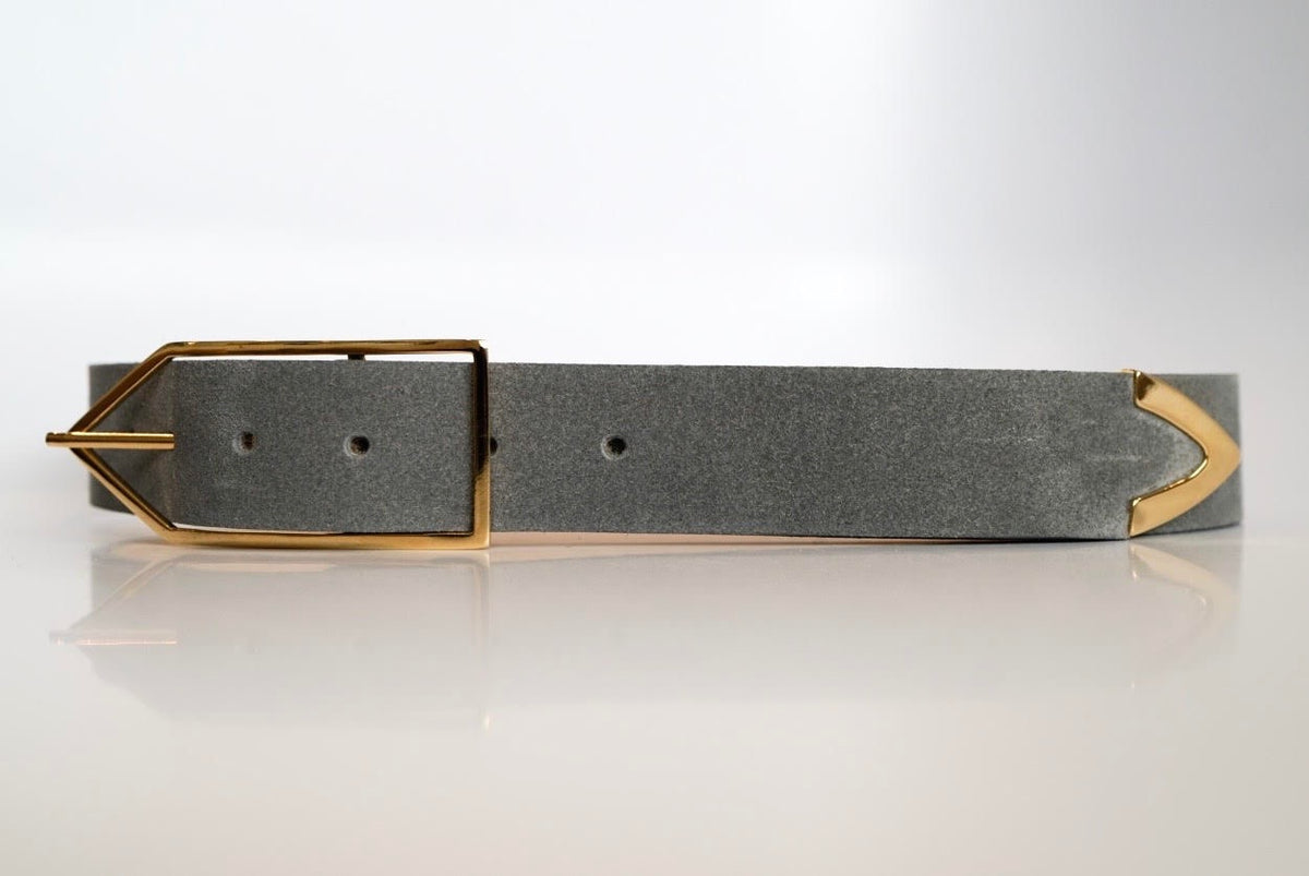 Dove Gray 'Brook' Waist Belt