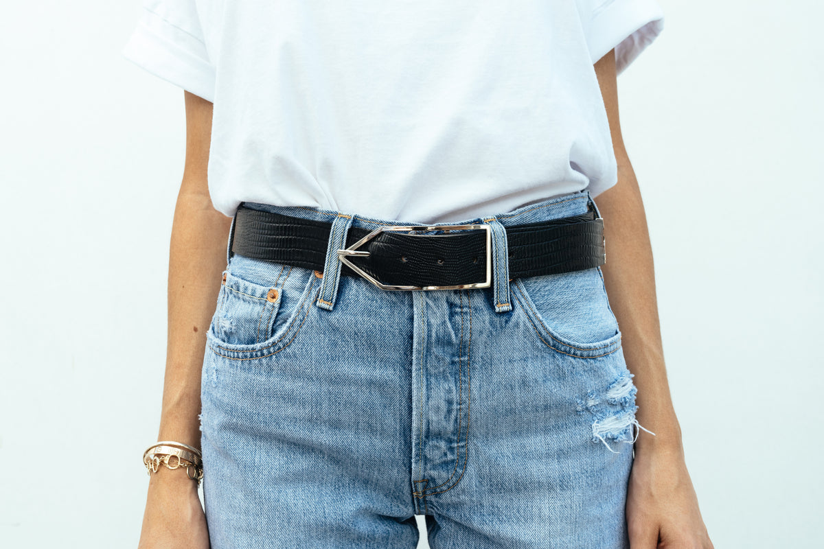 Black Lizard 'Brook' Waist Belt
