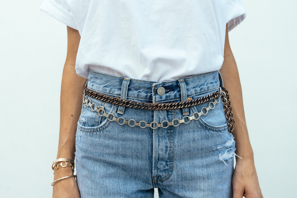 'Laurel' Double Waist Chain