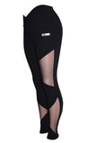 Sexy Black Mesh Fashion Fitness Leggings - Boss Bunny Sportswear