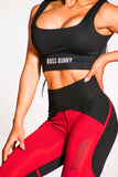 Classic Boss Bunny Sports Bra Crop Top - Boss Bunny Sportswear