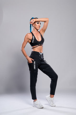 Zip-Off Adjustable Length Workout Pants - Boss Bunny Sportswear