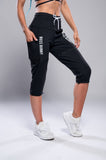 Wear 3 Ways Zip-Off Adjustable Length Workout Pants - Boss Bunny Sportswear