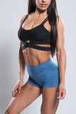 Criss-Cross Sports Bra - Boss Bunny Sportswear