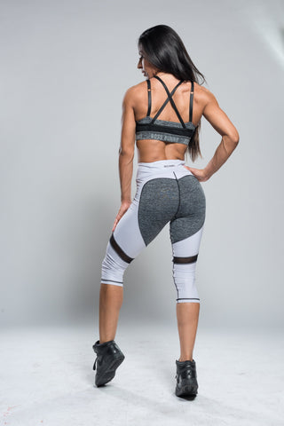 Love Butt Accenting Capri Leggings - Boss Bunny Sportswear
