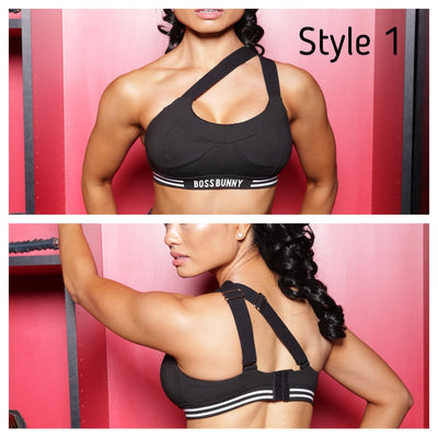 4-in-1 Convertible & Adjustable Straps Sports Bra