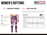 Camo and Lace Reversible Leggings - Boss Bunny Sportswear
