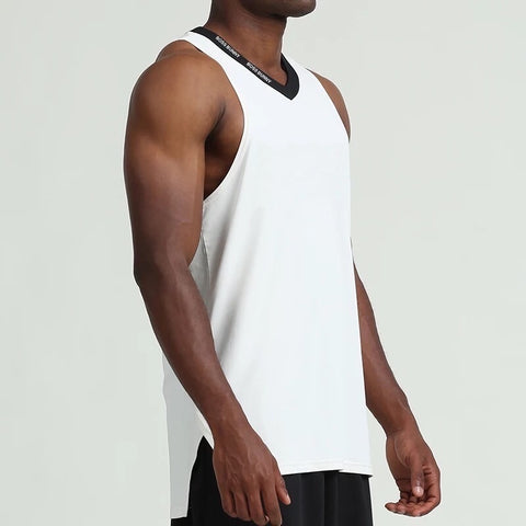 Men's Sleeveless V-Neck Top