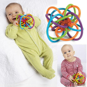 0-12 Months Baby Toy Ball Rattles
