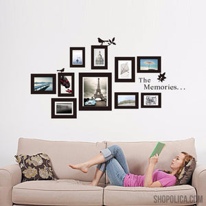 10x Picture Photo Frame Set