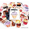 Cats Diary Stickers Pack (46pcs/pack)-Diary Stickers-Shopolica-Q-Shopolica