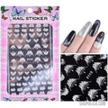 Nail Art Stickers-Nail Art Stickers-Shopolica-F113 white-Shopolica