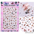Nail Art Stickers-Nail Art Stickers-Shopolica-F199 1-Shopolica