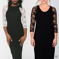 New Style Plus Size Lace Arm Shaper (2 Pcs/Set)-Clothes & Accessories-Shopolica-Shopolica