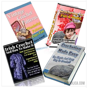 The Ultimate Crochet Bundle - 4 for the Price of 1