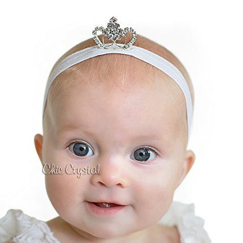 Princess Baby Headband - Chic Crystals