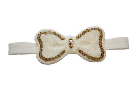 Lian Soft Headband - Chic Crystals