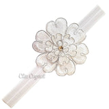 Flower Crystal Headband - Chic Crystals