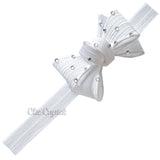 Bow Headband - Chic Crystals