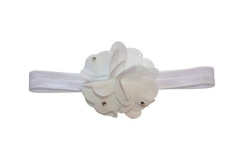 Pom Pom Headband - Chic Crystals